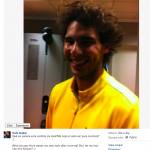 Social Media Studies: The Many Hairstyles of Rafael Nadal.