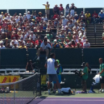 Tweetcap: Thomaz Bellucci and the Boisterous Brazilians defeat Jerzy Janowicz in Miami