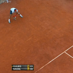 Return Of Serve Analysis: Rafael Nadal Barely Survives Ernests Gulbis