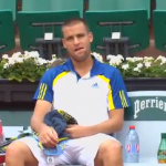 Mikhail Youzhny Kills His Racket at the French Open
