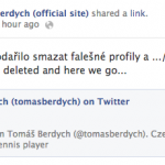 Tomas Berdych Finally Joins Twitter and The World Rejoices